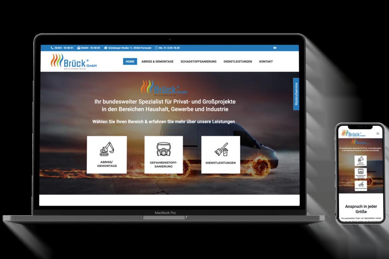 Modernes und optimiertes Webdesign bieten wir Ihnen als Webagentur