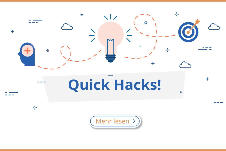 Quick Hacks für Ihre Webseite in Bad Homburg