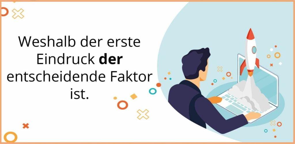 Bei Wolf Webentwicklung und Webdesign in Bad Homburg lernen Sie alles über den ersten Eindruck bei Webseiten