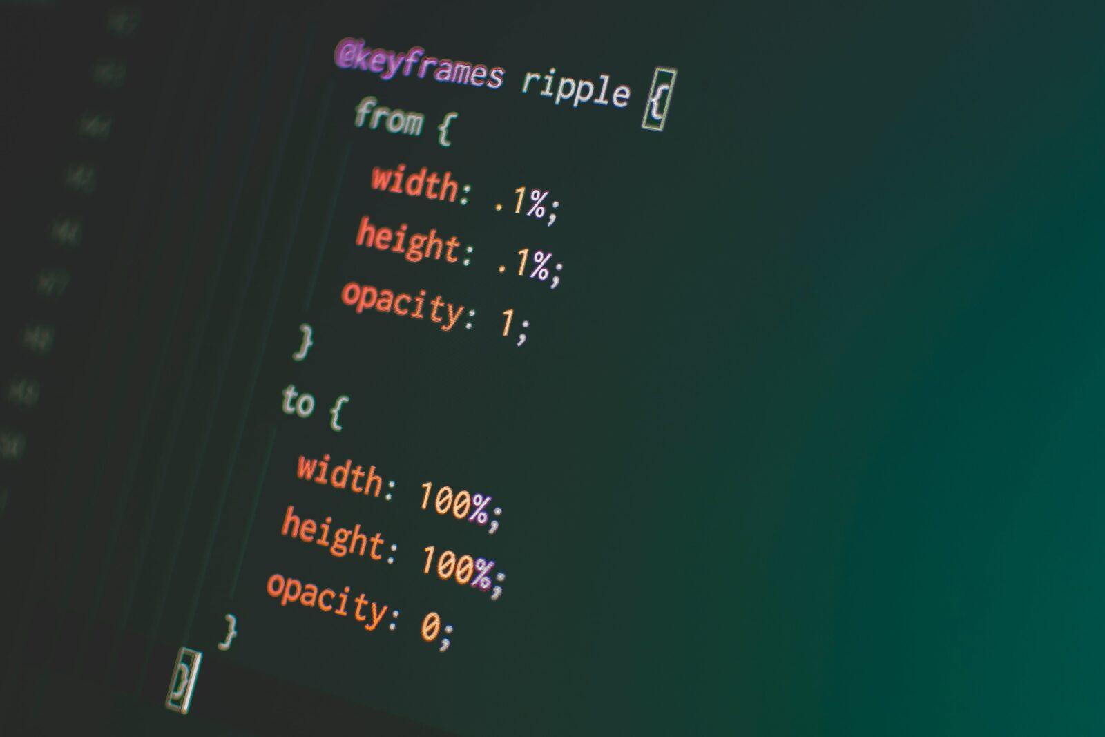 CSS3 CSS Animation Code